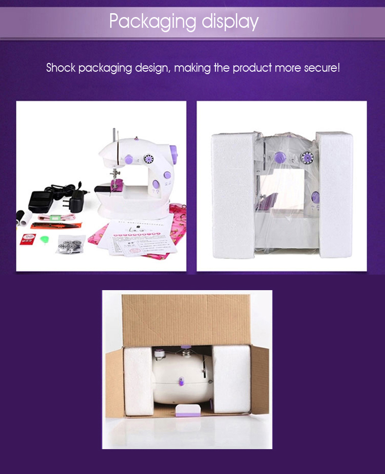 mini deluxe sewing machine packaging display 202-14