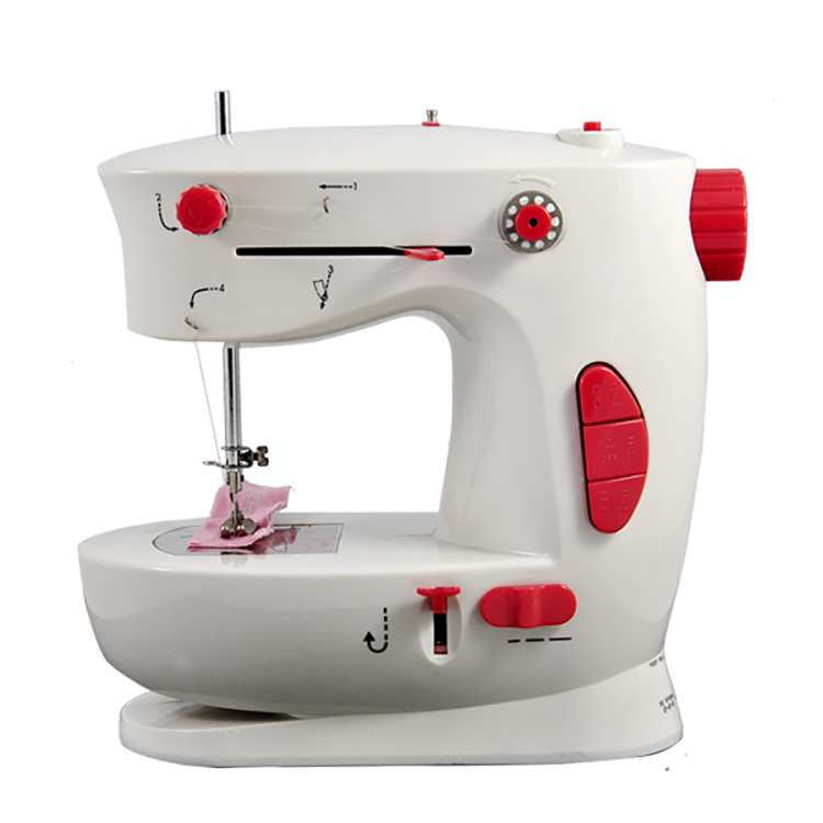 Mini electric household manual feed mechanism sewing machine FHSM-338