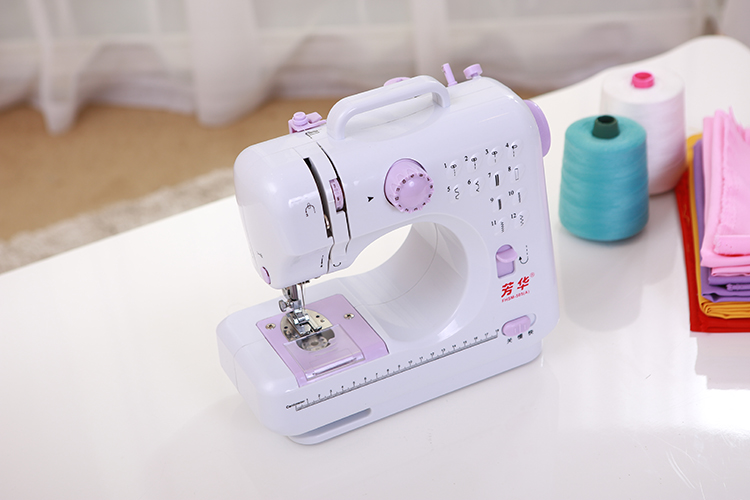 How to use household sewing machine make the skirt (FHSM-505)